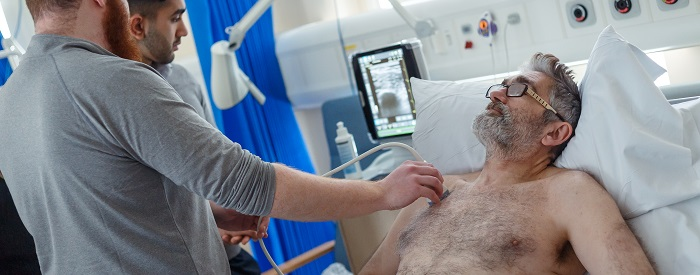 The University of Leeds diagnostic imaging course trains clinicians in ultrasound skills and theory