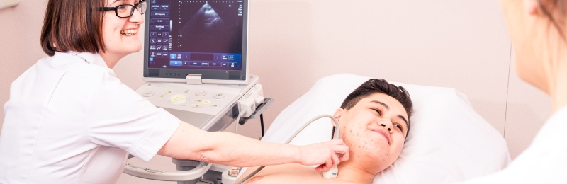 The University of Leeds PG Cert Echocardiography is a theory based programme which teaches students the dcience and technology of ultrasound, fundamentals of Echocardiography and pathologies.