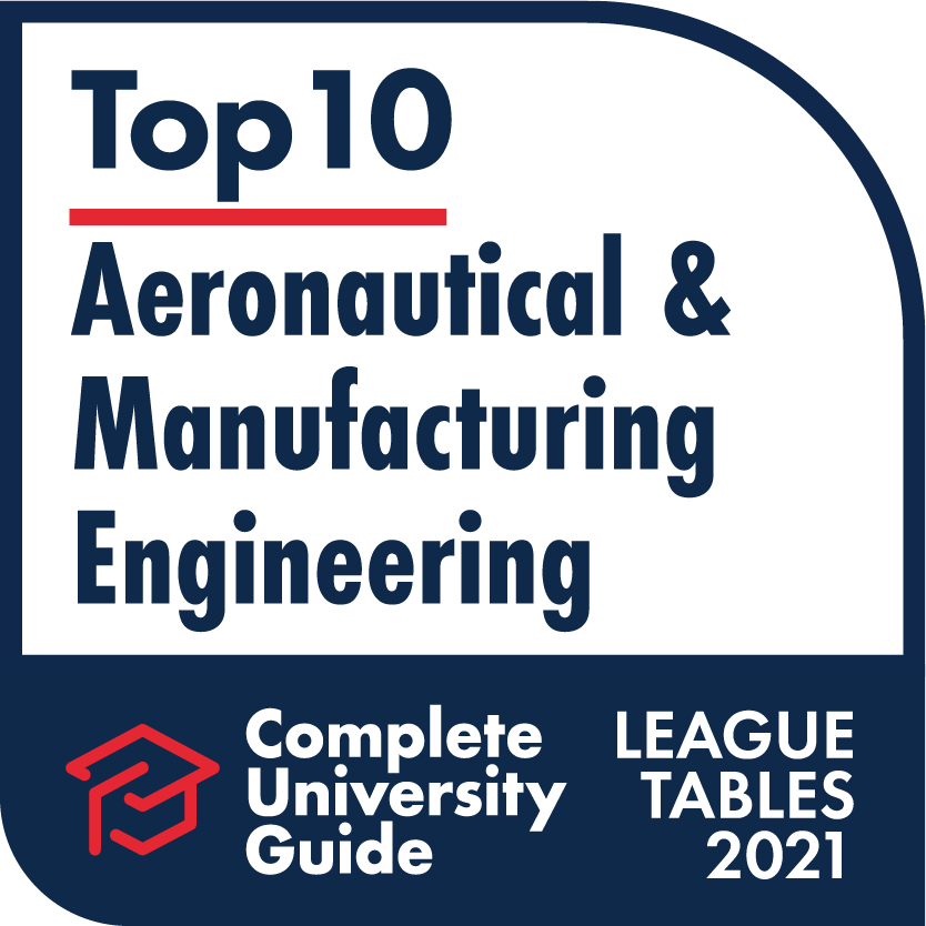 Engineering – Complete University Guide 2021 , Aeronautical  & Manufacturing Engineering