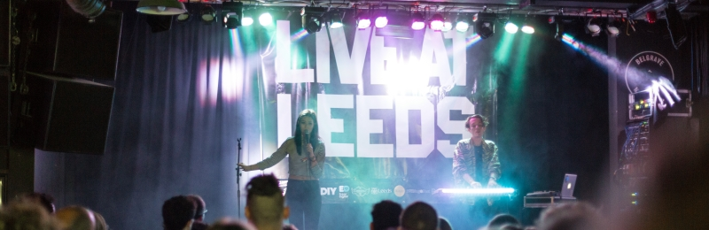 Image of Live at Leeds concert.