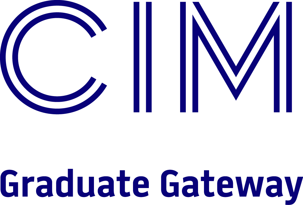 Accredited by CIM, Graduate Gateway