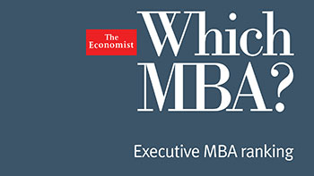 The Economist Which MBA? 2015 Rankings - Executive MBA 7th in the UK