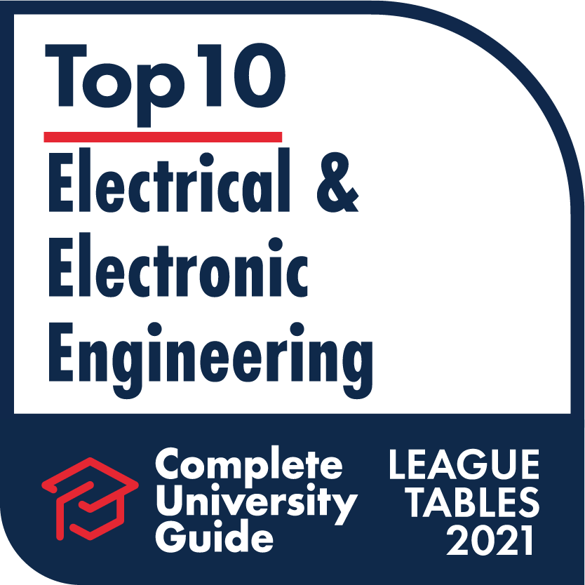 Engineering - Complete University Guide 2021 Electronic and Electrical Engineering