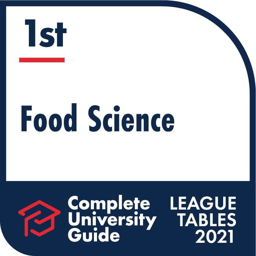Environment – The Complete University Guide 2021, Food Science