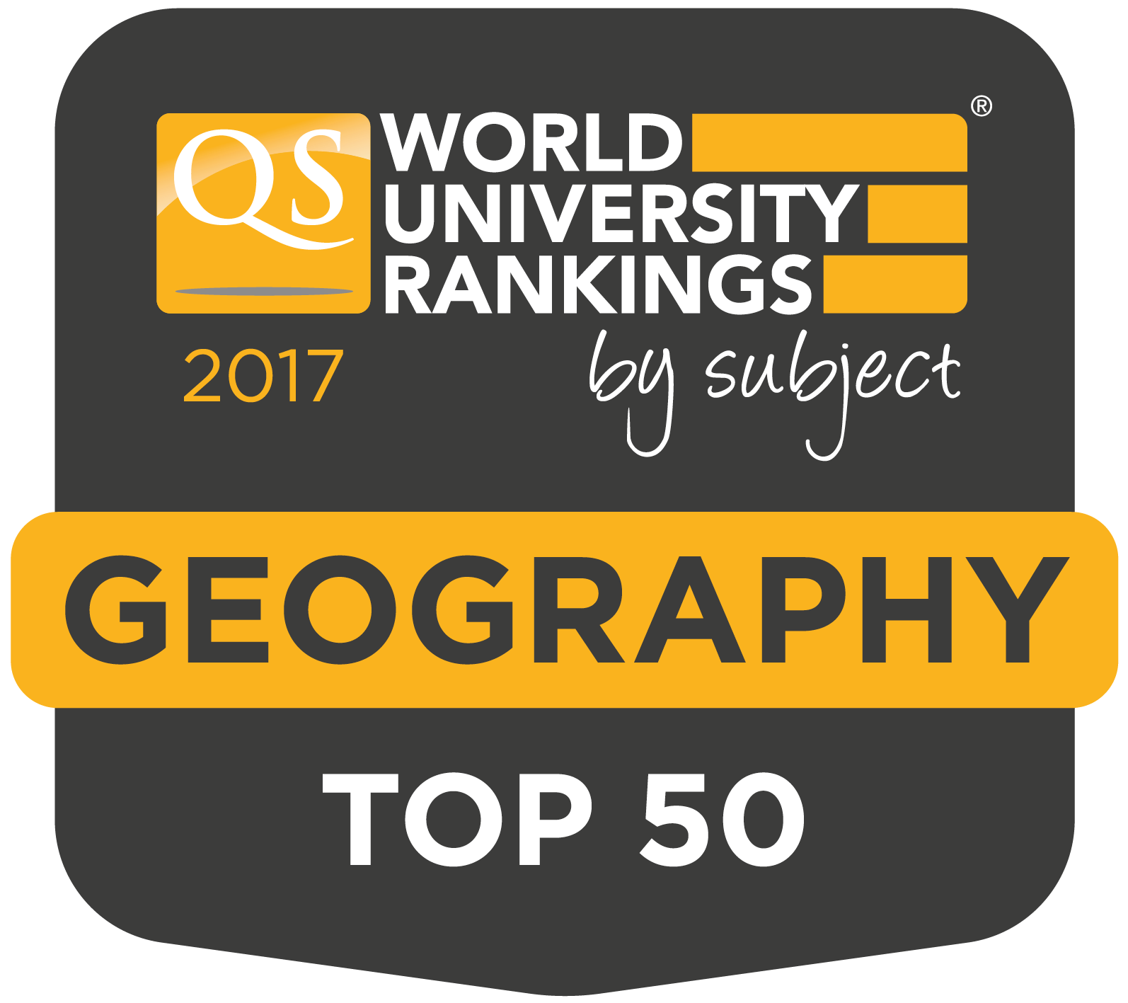QS Top 50 - Geography
