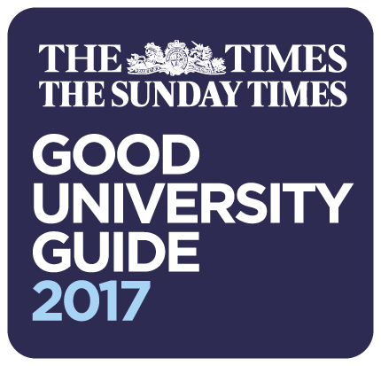 The Times and Sunday Times Good University Guide 2017 logo