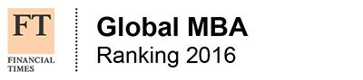 Financial Times Global MBA Ranking 2016 – Top 100