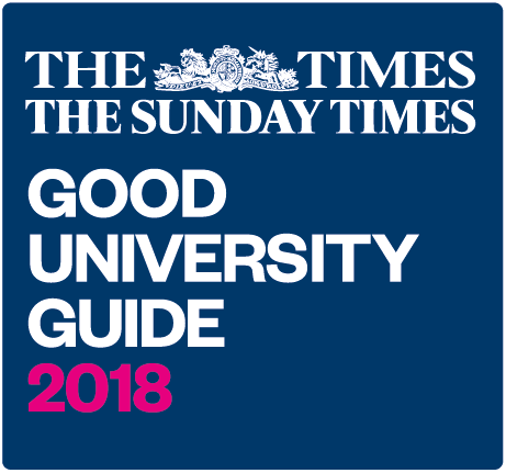 The Times and Sunday Times Good University Guide 2018 logo