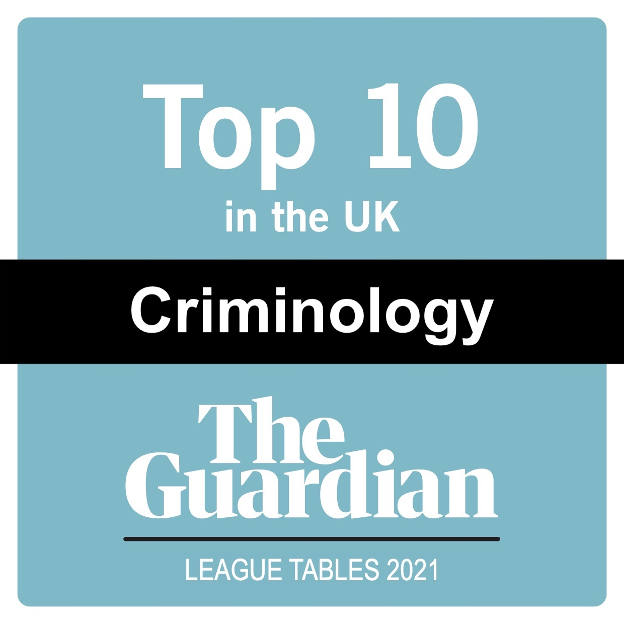 The Guardian University League Tables 2021