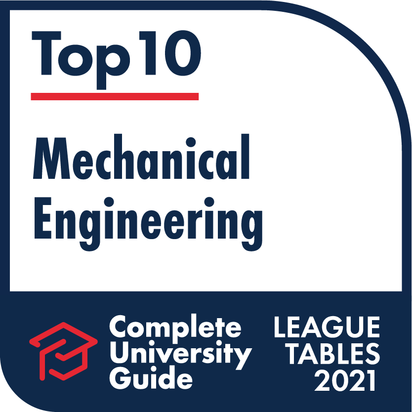 EPS - Complete University Guide 2021 Mechanical Engineering