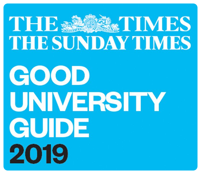 Top 10 in the UK for Geography and Environmental Sciences - The Times and Sunday Times Good University Guide 2019