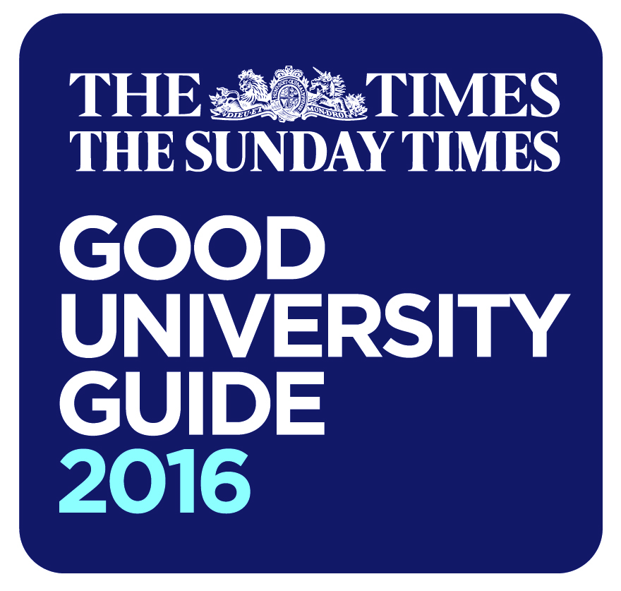 The Times and Sunday Times Good University Guide 2016