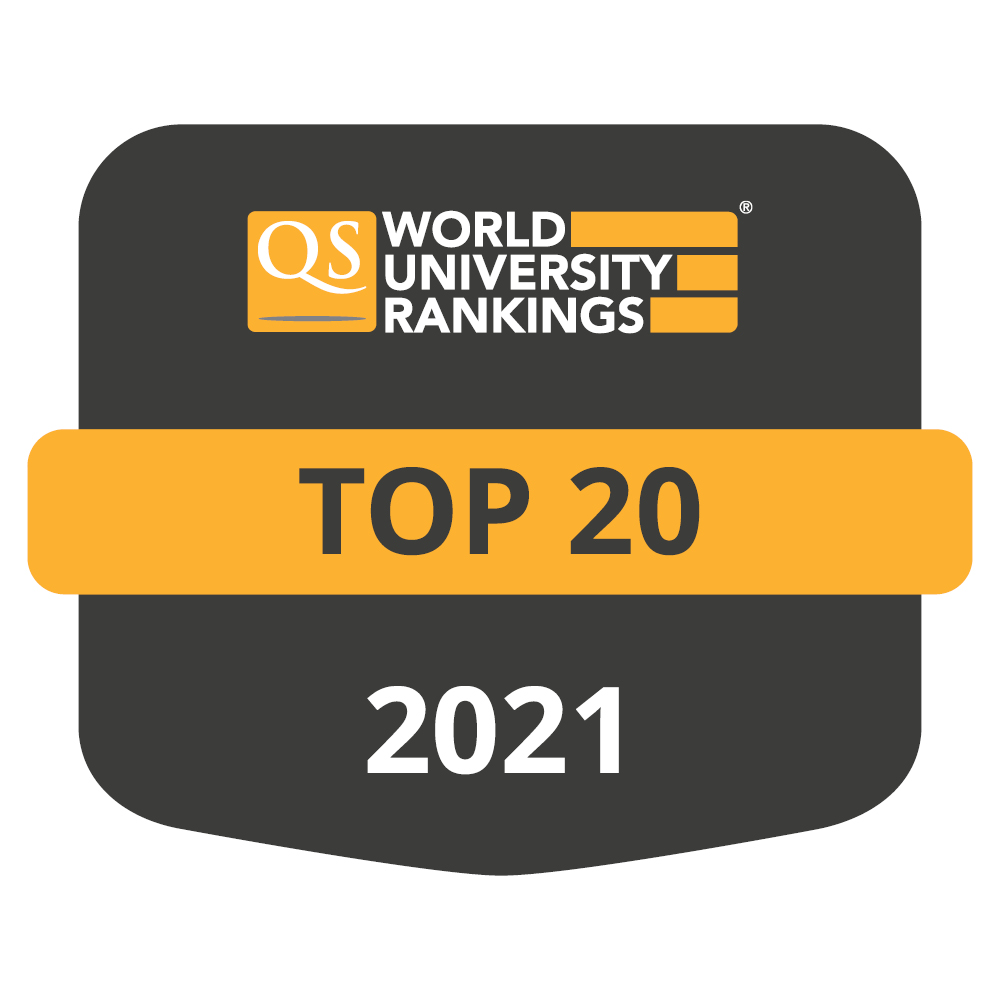 QS World University Rankings by Subject 2021