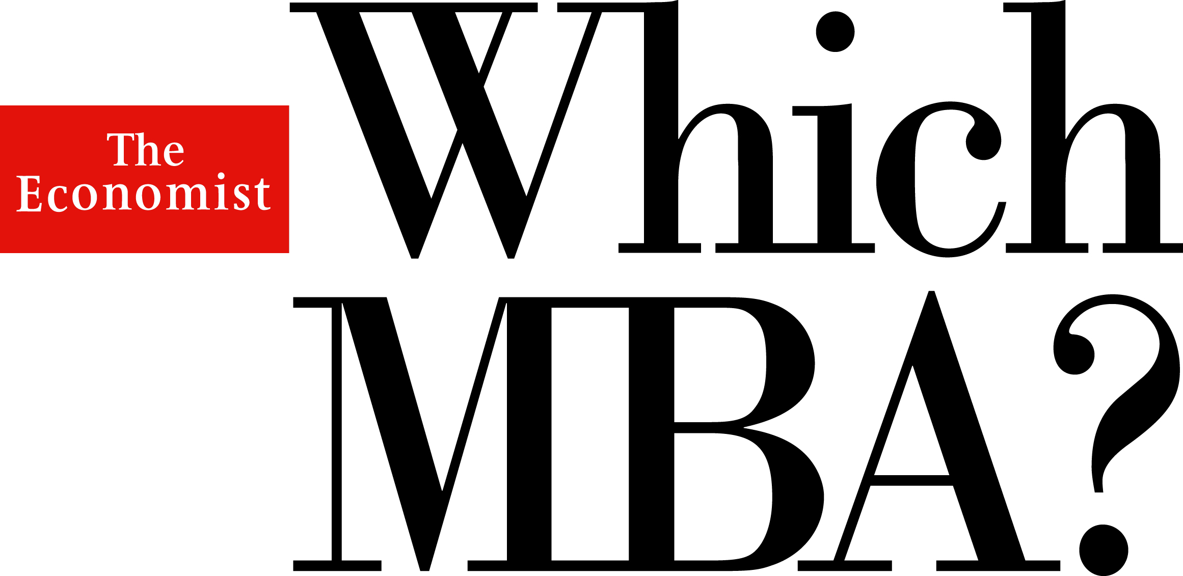 The Economist Which MBA? logo