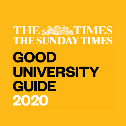 The Times and The Sunday Times Good University Guide 2020