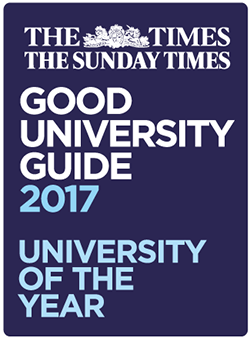 University of the year 2017